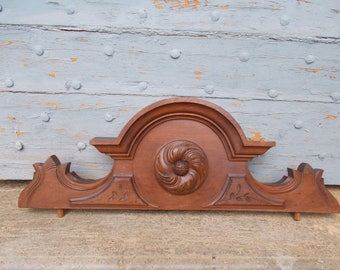 Antique French Small Pediment/ Fronton