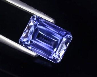 8.1 ctw. blue sapphire loose gemstone.