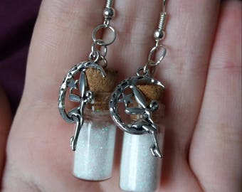 Fairy Bottle Earrings