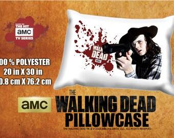 The Walking Dead Carl Grimes Chandler Riggs Pillowcase