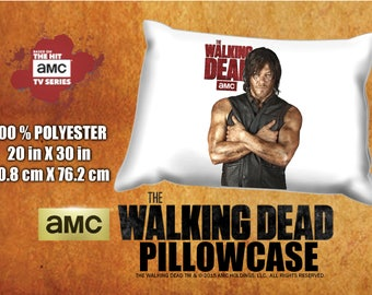 The Walking Dead Daryl Dixon Norman Reedus Pillowcase