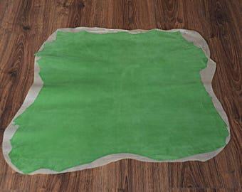 Light green lambskin finish velvet finish (9078299)