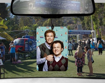 Step Brothers car Air Freshener Catalina Wine Mixer lemon lime scented boats n hoes gifts for Boyfriend gift her Girlfriend Dale Brennan