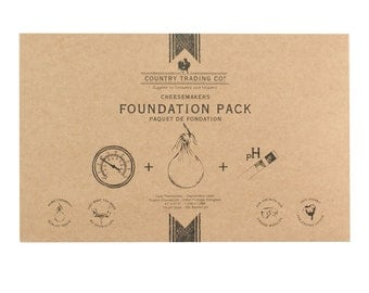 Country Trading Co. Cheesemakers Foundation Pack