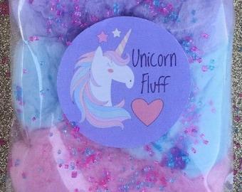 Unicorn Cotton Candy Favors (12) Cotton Candy Bags   Goodie Bags   Cotton Candy Gifts   Cotton Candy Favors   Fluff   Unicorn Theme