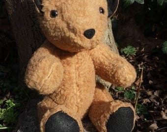 """""""Teddy Bear"""" style articulated Teddy bear vintage"""