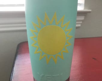 Sunburst Vinyl Decal
