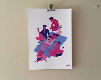 Kiki A4 print
