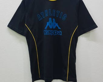 Rare!!!Vintage Kappa Athletic Big Logo Spell Out Nice Design