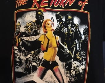 Return Of the Living dead - Linnea T-shirt (exclusive design) *FREE SHIPPING*