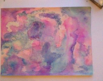 I Am Love. Original WaterColor Painting