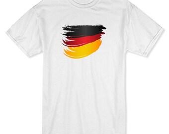 Germany Flag Stroke Men's T-shirt