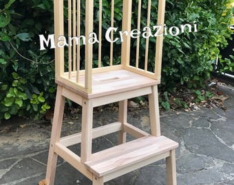 Little Helper Tower Table Chair All In One Montessori