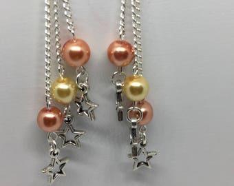 Earrings star / stars earrings