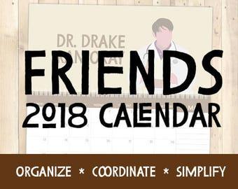 Friends - 2018 Calendar