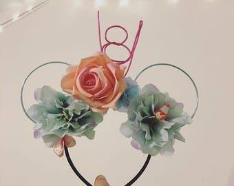 Cars/Flo Inspired Mickey Ears