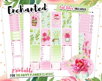 Summer Planner Stickers, Flowers Planner Stickers, Happy Planner Stickers, Flower Stickers, July Weekly Kit, Floral Stickers
