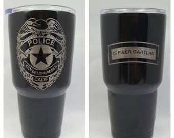 Police Officer Gifts, Police Officer YETI, Police Gifts, Police Mug, Personalized YETI, Police Decor