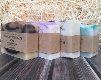 Soap Gift Set Birthday gift set Gift for her Soaps Teachers gift set Wedding gift set Valentine's gift Mother's day Gift for mom Grandmother