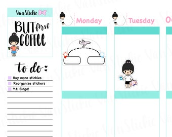 Chibit - Travel The World Planner Sticker Set