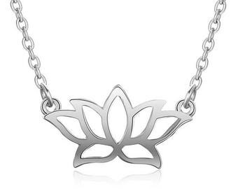 New fashionable sterling silver beautiful Lotus flower pendant