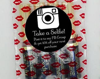 Take a Selfie Sticker - Great Marketing Tool - Direct Sales