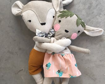 bambi deer doll stuffed animal toy baby and child