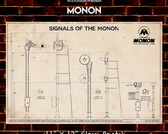 Signals of the Monon Poster