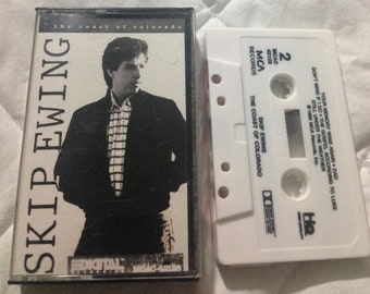SKIP EWING - The Coast of Colorado audio cassette tape