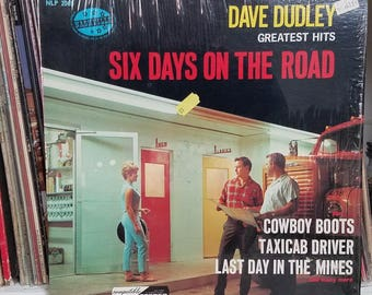 Dave Dudley Six Days On The Road Nashville Records NLP 2065 Country Greatest Hits LP