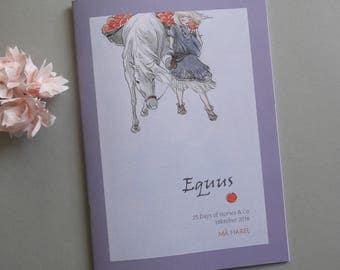 Equus - 25 days of Horses - Zine