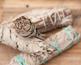 White Sage Smudge Great for clearing negative energies