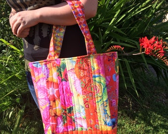 tote bag,quilted tote, market bag, travel bag, quilted, bag ,grocery bag, gifts for her, custom made bags, diaper bag
