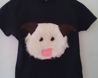 Handmade Poro League of Legends T-Shirt, Fantasy
