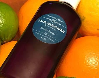 Blood Orange Face Cleanser, Cleansing Oil, Oil Cleansing Method, Face Oil Cleanser, Citrus Face Wash
