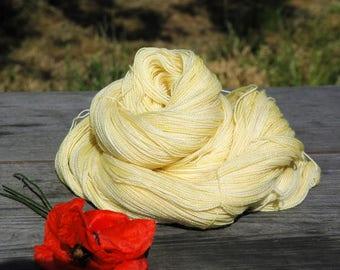 Tamago Iro | Hand Dyed Lace Weight Yarn 800m/100g Extra Fine Merino & Silk