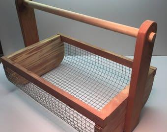 Handmade Garden Basket