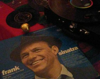 Frank Sinatra Nevertheless I'm in Love with You Full Vinyl Album in Protective Sleeve Near Mint!