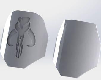 Mandalorian shoulder armor