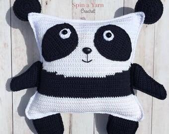 Pudgy Panda Plushie Crochet Pattern