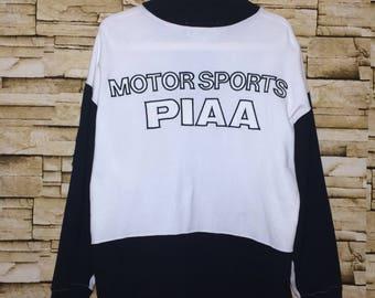Rare!!! PIAA MOTORSPORTS sweatshirt small size