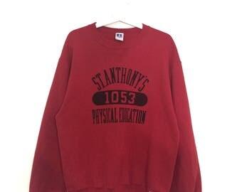 Vintage RUSSEL ATHLETIC sweatshirt crewneck jumper