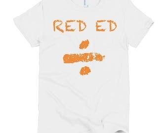 Ed Sheeran Divide Album - Short sleeve women's t shirt