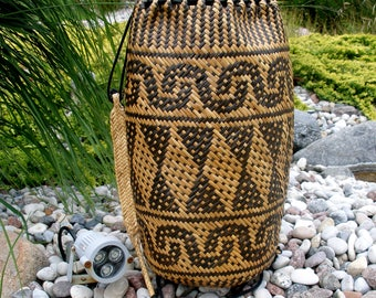 wicker backpack, wicker purse, sisal backpack, sisal bag, wicker bag, ethnic backpack, woven beach bag, wicker basket bag, wicker bag