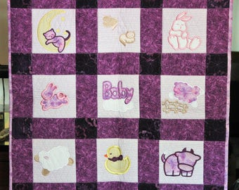 Sweet Dreams Baby Quilt