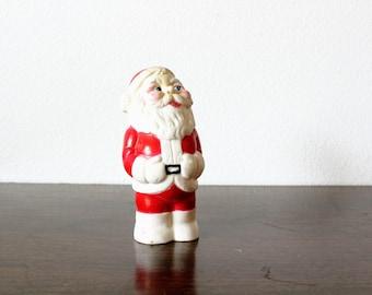Vintage   Santa Claus Figurine   Santa Clause   Christmas Decor   Collectors Item Christmas   Holiday Decor   Christmas Gift   Gift