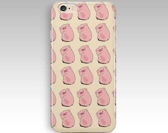 Pink Pig Animal Pattern iPhone 5 5s SE 7 8 8 plus X Case Samsung A3 Case Nokia 3 Case Nokia 6 Case Lg Q6 Case Lg Google Nexus 5 Case