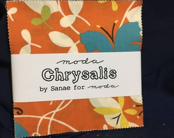 Moda Charm Pack Chrysalis by Sanae