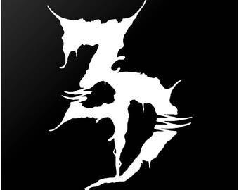 Zeds Dead EDM Vinyl Decal Laptop Car Window Sticker