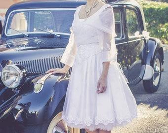 Wedding dress short pinup retro 50s MARRY ME